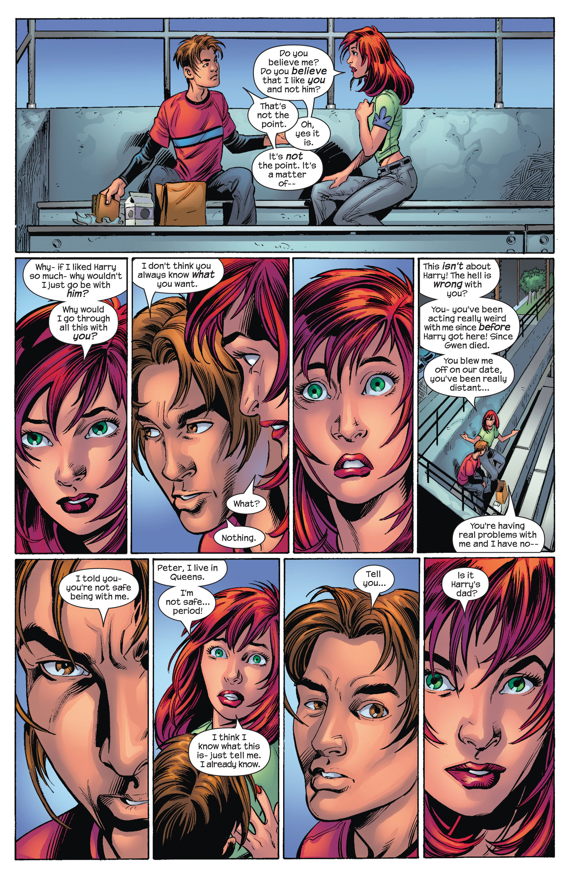 Read online Ultimate Spider-Man (2000) comic -  Issue #75 - 14