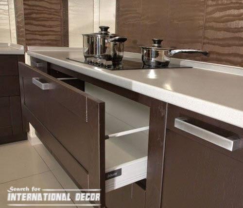 Kitchen drawer systems to equipment your kitchen