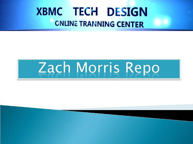 DOWNLOAD ZachMorris Add-ons xbmc Repository addon for Kodi and XBMC