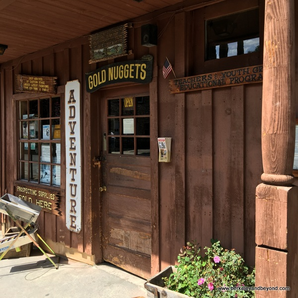 office of Gold Prospecting Adventures in Jamestown, California