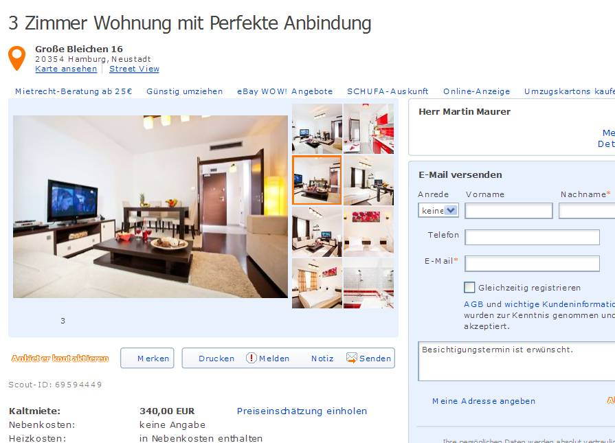 Zimmer Wohnung Mainz Altstadt