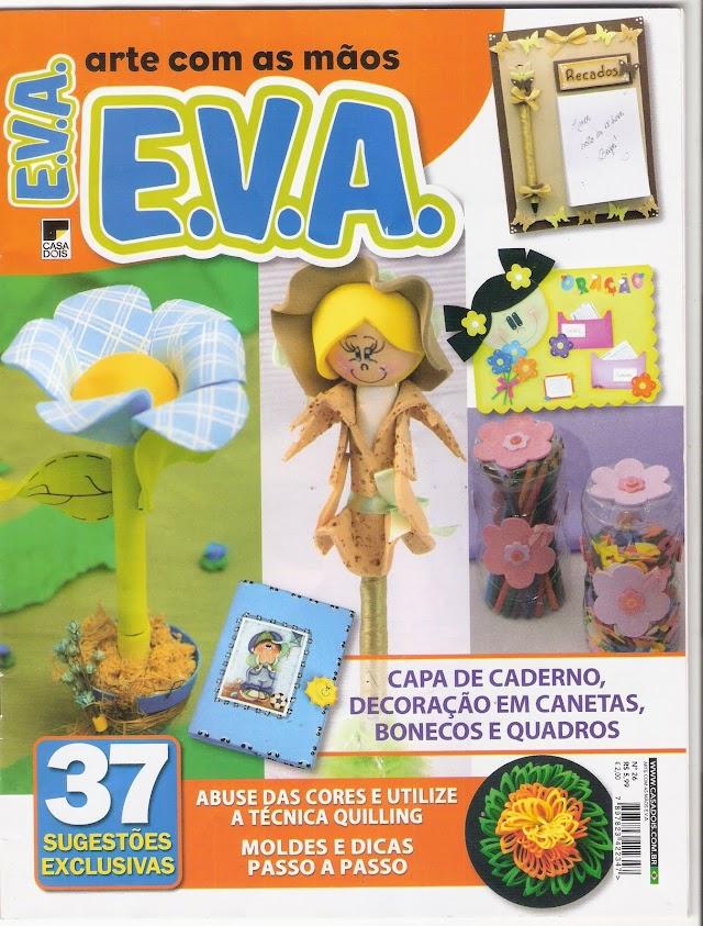 Artes Com as Mãos E.V.A-N°26