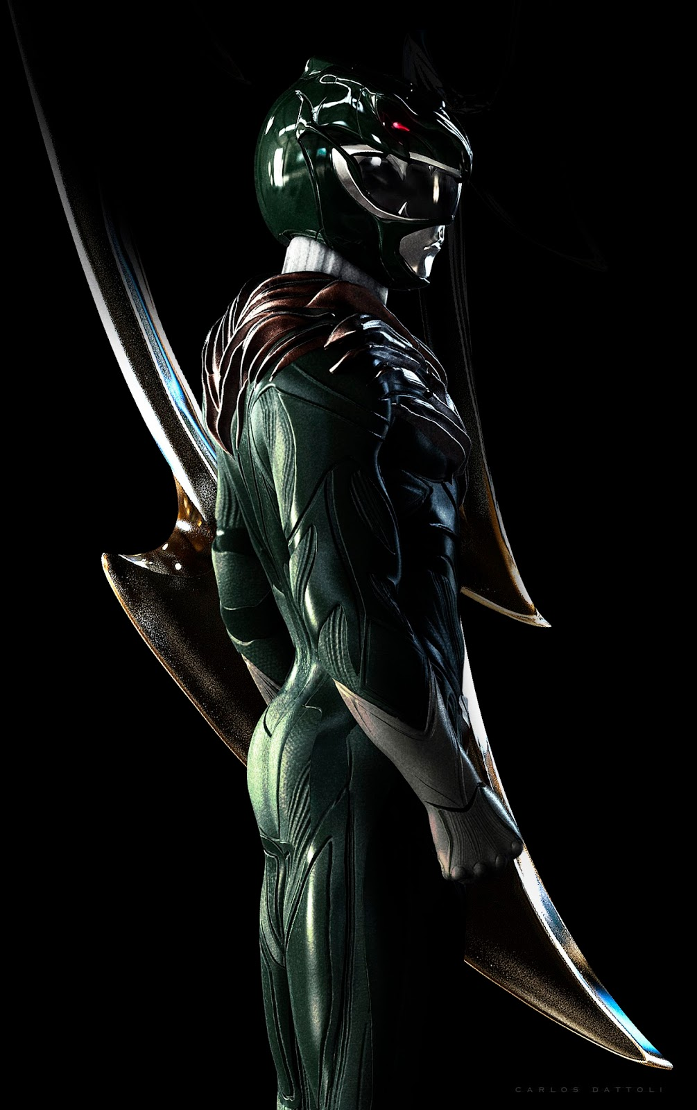Carlos Dattoli Green Power Ranger