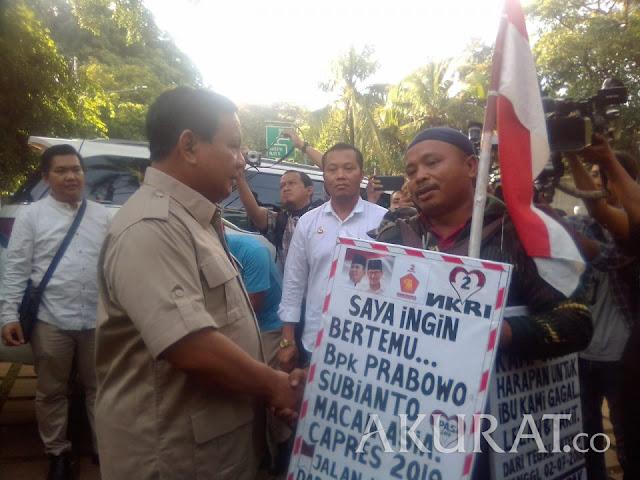 Jalan Kaki dari Tegal ke Jakarta, Rahman: Initinya Ingin Ganti Presiden