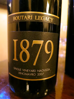 Boutari 1879 Legacy 2007 - PDO Naoussa, Greece (91 pts)