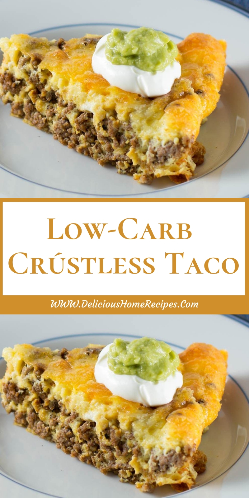 Low-Carb Crústless Taco