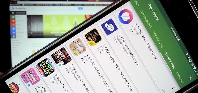 Trik Rahasia Pada Google Playstore