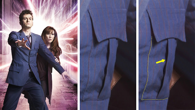 10th Doctor blue suit pocket