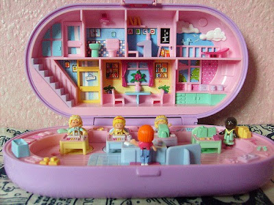 Miniaturas Polly Pocket anos 90