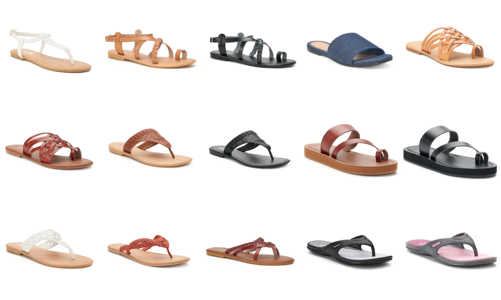a5e6e16e3dd6 Kohls has these Women s SO Sandals for  8 (Reg.  20). Kohl s Card-Holder  also get an extra 30% off with code  CRISP30 and free ship with code   FALL4MVC.