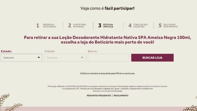 amostra gratis nativa spa