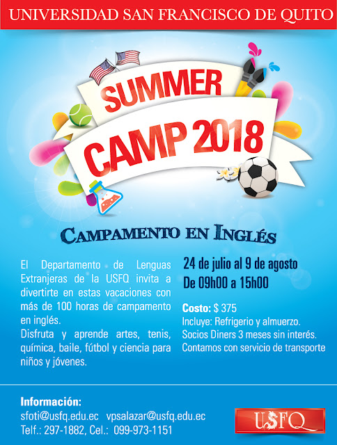 Summer Camp USFQ 2018