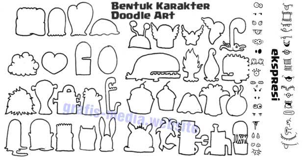 Belajar Membuat Doodle Art Untuk Pemula  Panduan Cara Membuat Doodle Art Untuk Pemula