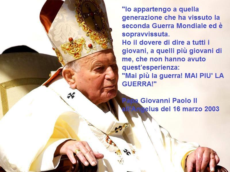 Frasi Famose Di Papa Giovanni Paolo 2.Frasi Papa Giovanni Paolo Ii