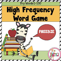 Free HFW Game for words 1-100