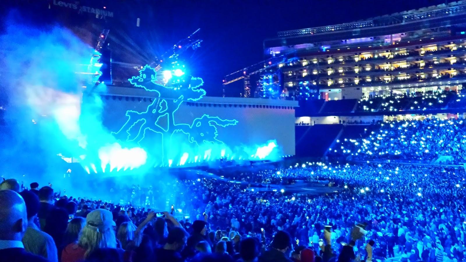Mark Noce Stories: Saw U2 in Concert!