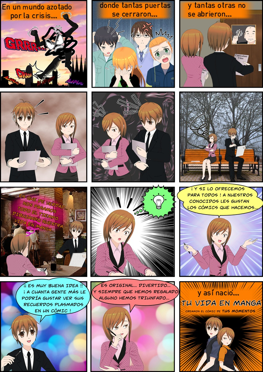 Historia de Tu Vida en Manga