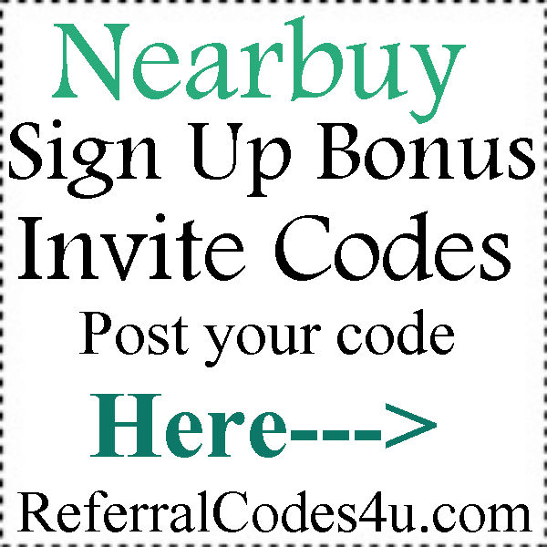 Nearbuy App Invitation Codes 2016-2017, Nearbuy Promo Codes August, September, October