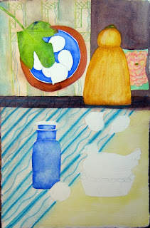 FIGS AND BLUE GLASS - CONTINUED