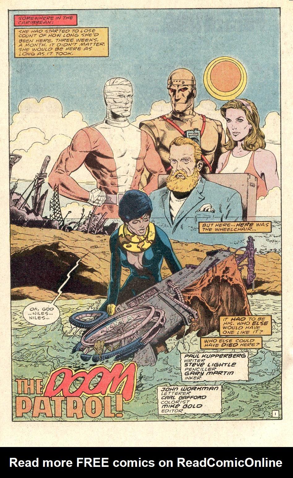 Read online Secret Origins (1986) comic -  Issue # _Annual 1 - 33