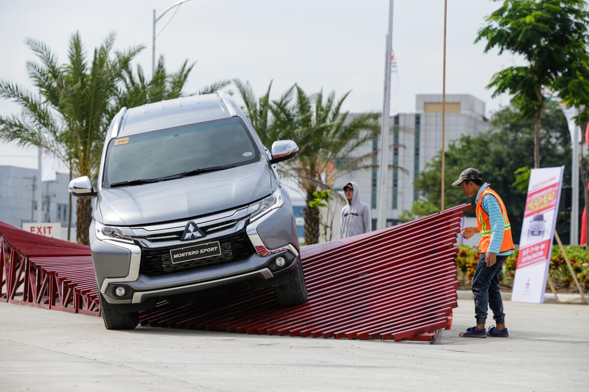 Mitsubishi Montero Sport Spiral Ramp Test
