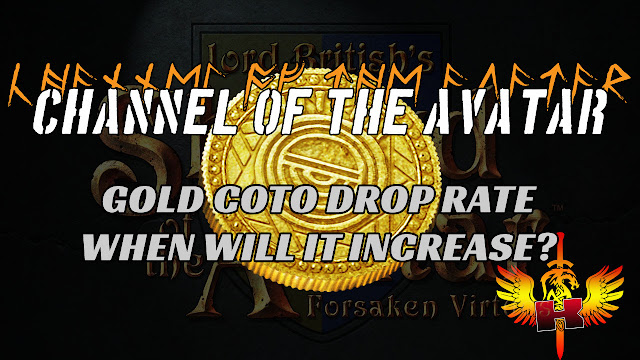 Gold GOTO Drop Rate, When Will It Increase?