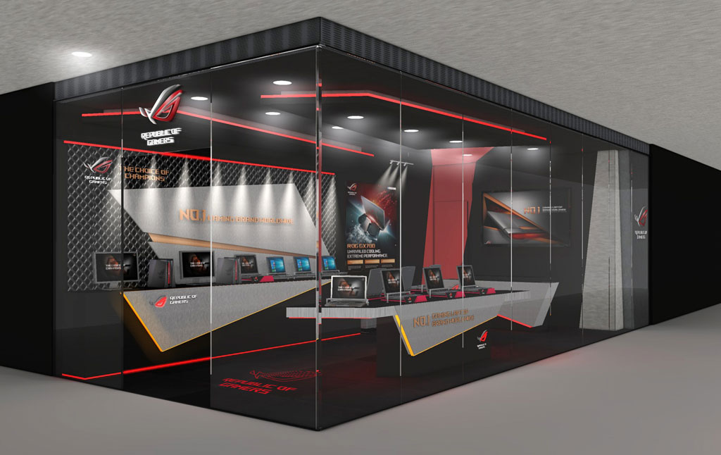 ASUS Republic of Gamers First Concept Store