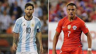 Argentina vs Chile por el Título Copa América Centenario