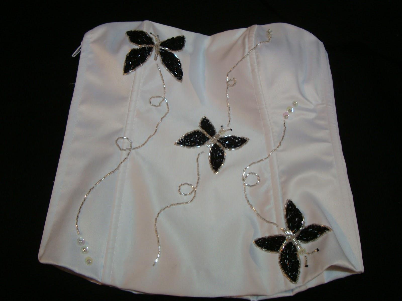 Bordados en canutillos vestidos de fiesta