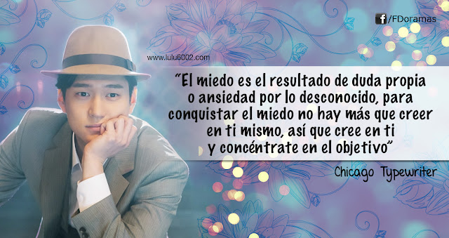 Chicago Typewriter capitulo 6 frases