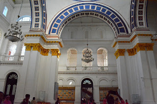 Inside of Cooch Behar Palace