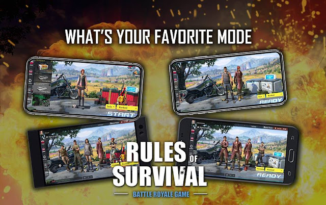 Mode Match di Rules of Survival