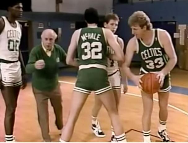 Ο Larry Bird μας διδάσκει το  pick and roll