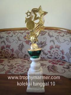 Harga Trophy piala marmer Koleksi 10tunggal