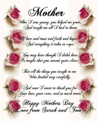 Happy Mothers Day 2016 Picture Poems