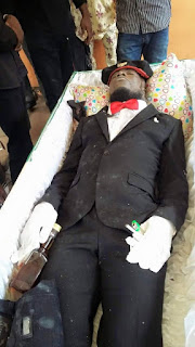 SEE PHOTOS Cultist Man Buried With Hot Drink, Marijuana And Cigarette 1