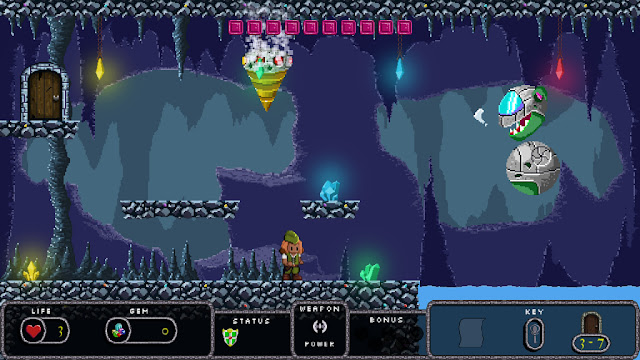 retro-themed platformer