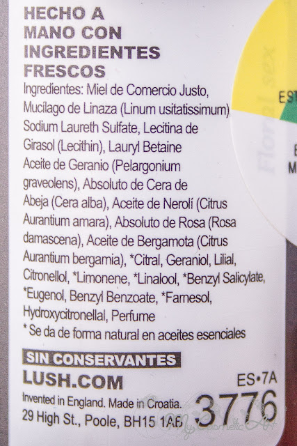 Fairly Traded Honey, champú líquido de miel de Lush.
