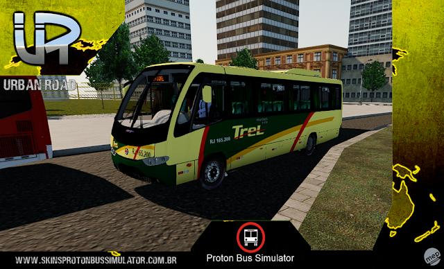 Skin Proton Bus Simulator - Senior Executivo VW 9-150 OD TREL - Transturismo Rei
