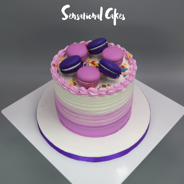 nice wedding cakes singapore the sensational cakes colorful pink and purple macarons 17844