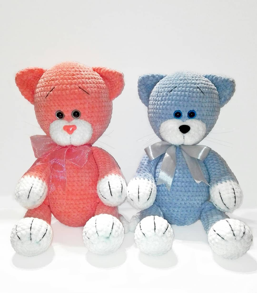 Big Amigurumi Cat Free Crochet Patterns | 1228x1080