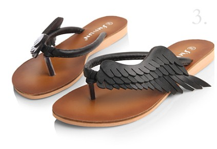 Cool Things On Sale Fashion Angel Wings Sandals
