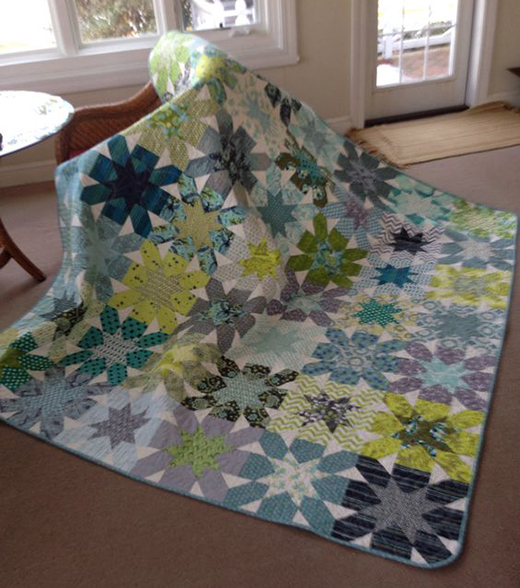 Starburst Cross Quilt Free Tutorial