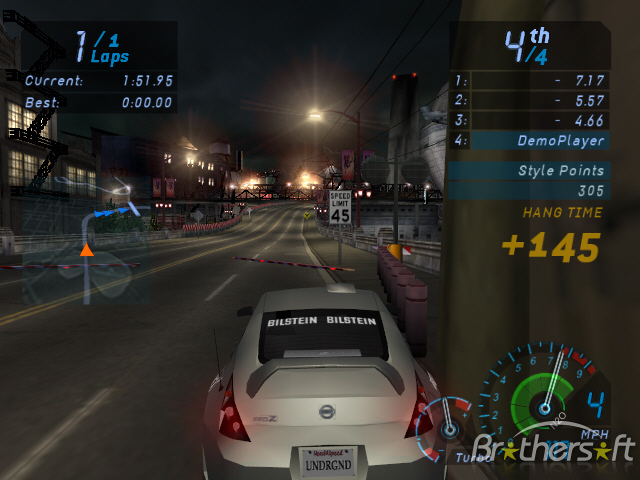need for speed underground full rip 280mb download free. Black Bedroom Furniture Sets. Home Design Ideas