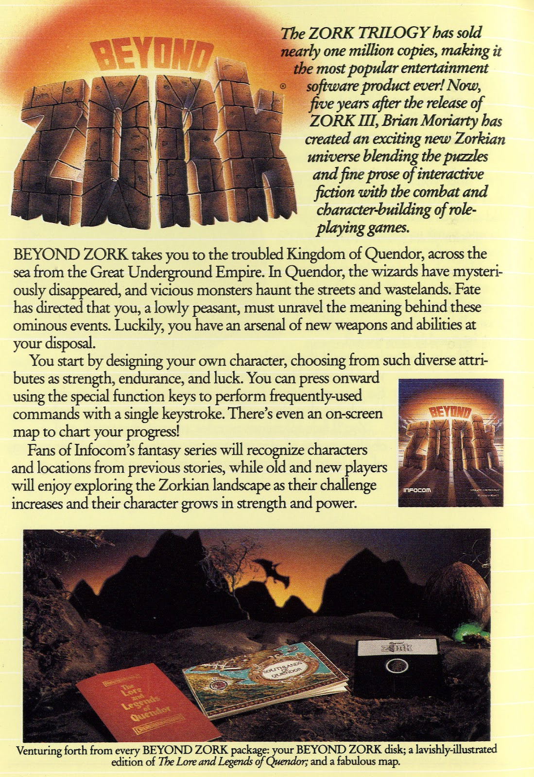 Gaming After 40: Cover to Cover: Infocom 1987 Catalog (pp  5-6)