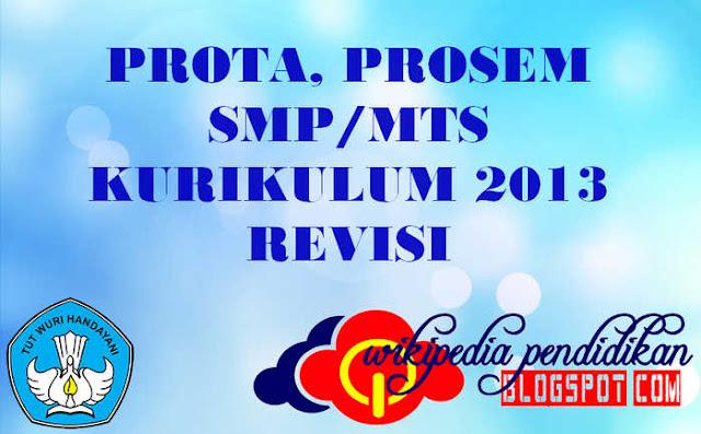 Prota Promes Matematika SMP/MTs Kelas 7 Kurikulum 2013 Revisi 2016
