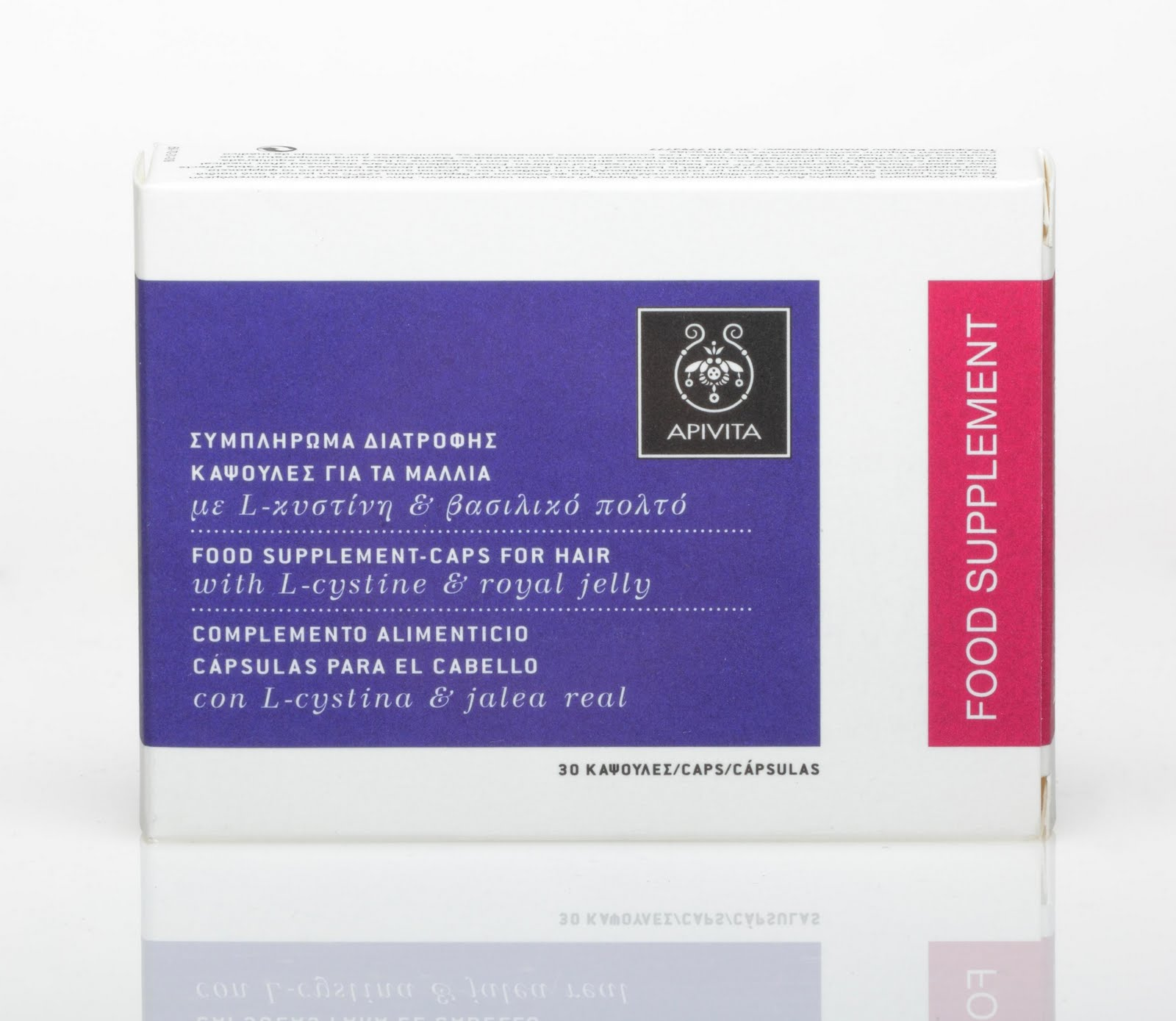 suplemento para el cabello en capsulas de apivita