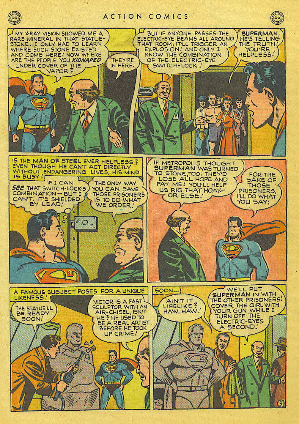 Read online Action Comics (1938) comic -  Issue #135 - 10