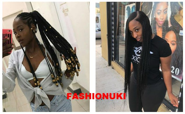 47 Latest Cornrows Braided Hairstyles 2019 For African Girls To