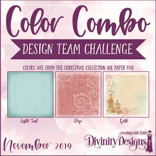 Divinity Designs LLC November Design Team Color Challenge